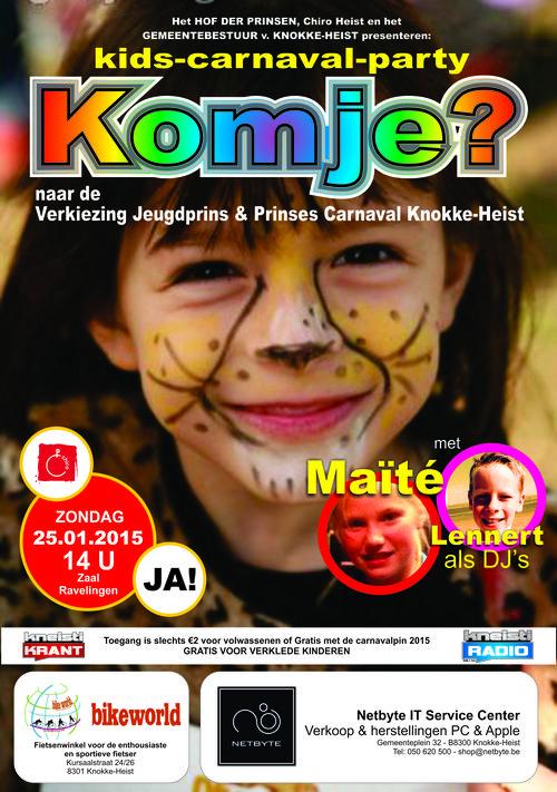Affiche A2 kindercarnaval