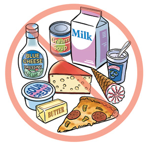 waar zit lactose in