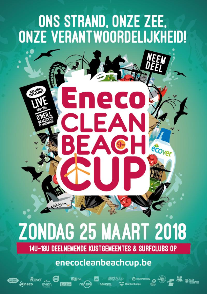 Eneco Beach Clean Up 2018