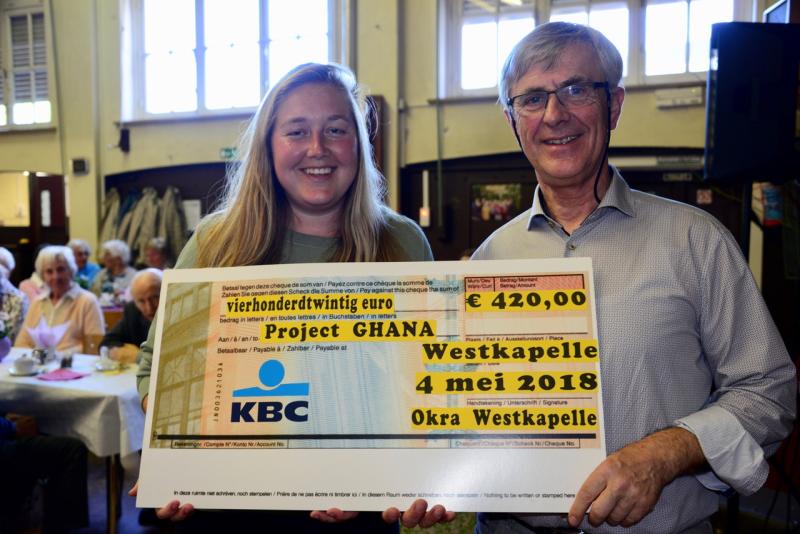 OKRA cheque Maaike