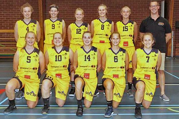 Dames one van BC Knokke-Heist verliezen na slechte wedstrijd tegen bavi Gent met 57-50