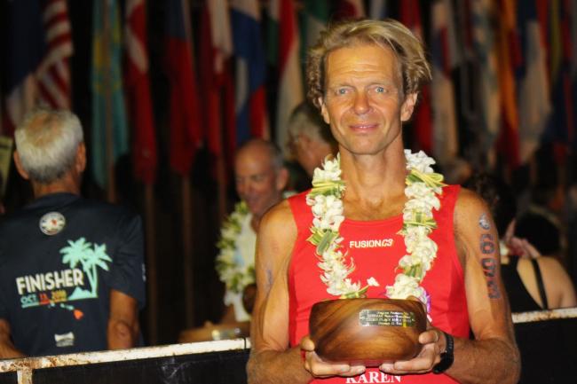 Memorabele Ironman Hawaii voor drie stadsgenoten