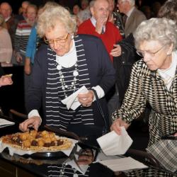 Seniorenfeest taartjes