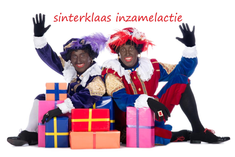 Inzamelactie Sinterklaas