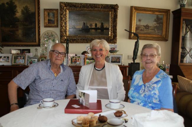 Platina huwelijksjubileum van Paul Hellemond en Simonne Van Landegem