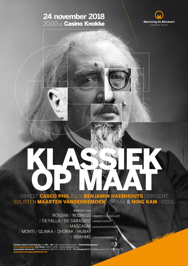 Marnixring Knokke-Heist organiseert haar 42STE concert in CASINO Knokke-Heist